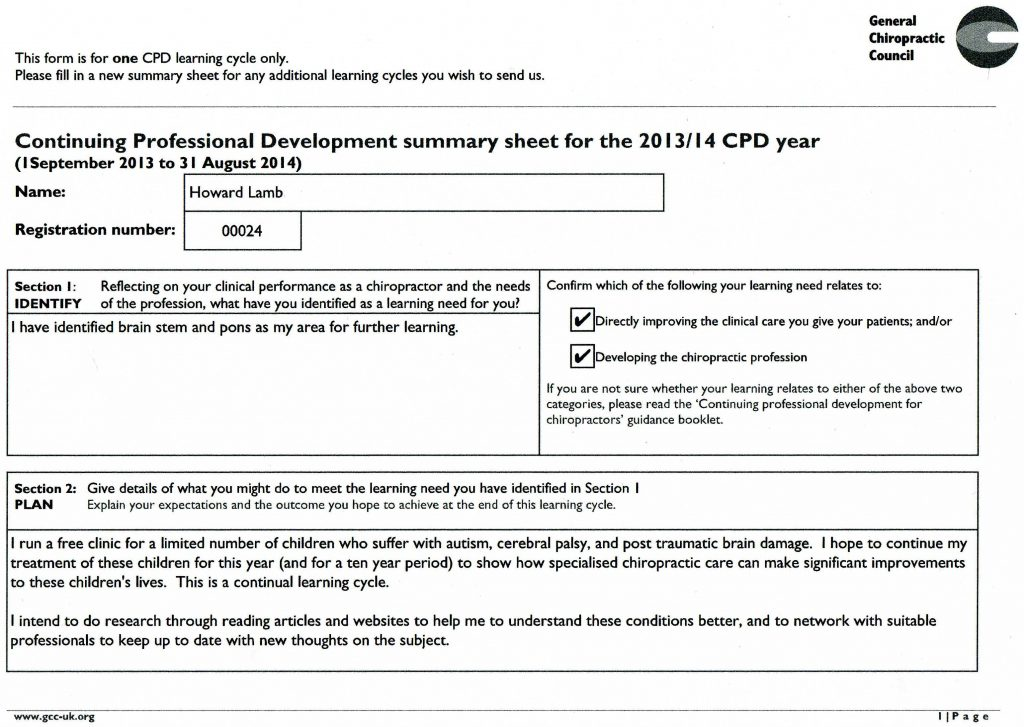 Accepted CPD 2013-14 page 1